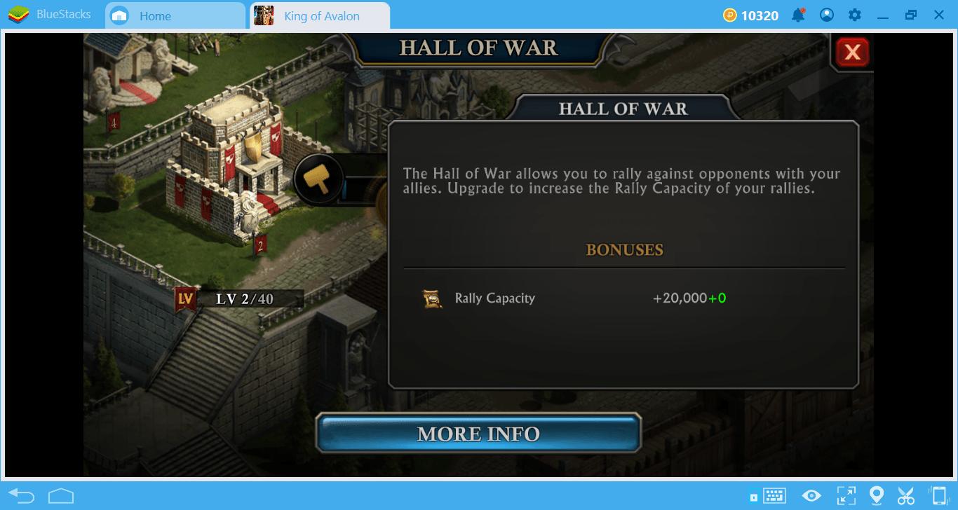Wszystko, co Musisz Wiedzieć o Budynkach w King of Avalon na PC