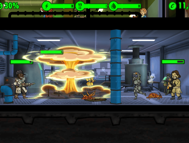เล่น Fallout Shelter on PC 8