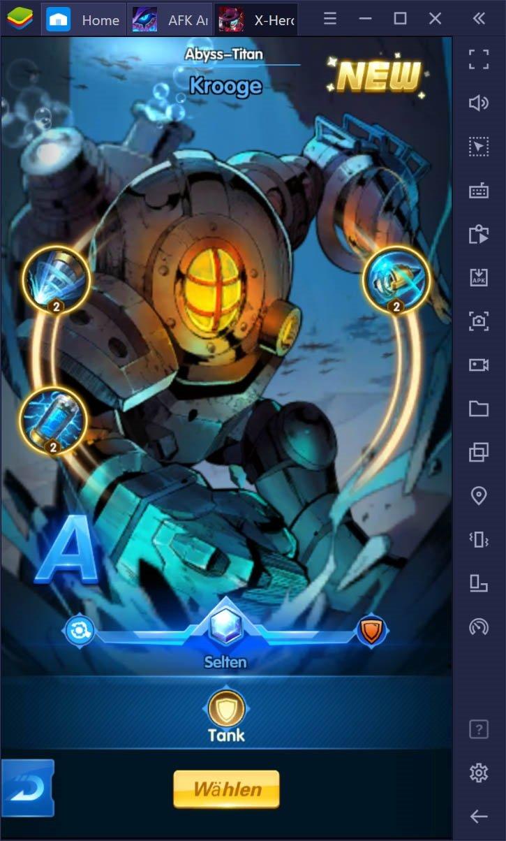 X-HERO: Idle Avengers auf dem PC – So spielst du mit BlueStacks