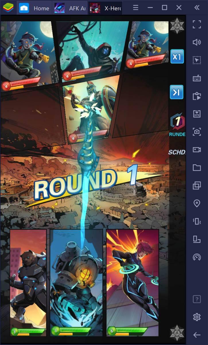 X-HERO: Idle Avengers Vs. AFK Arena: Welches Spiel ist besser?