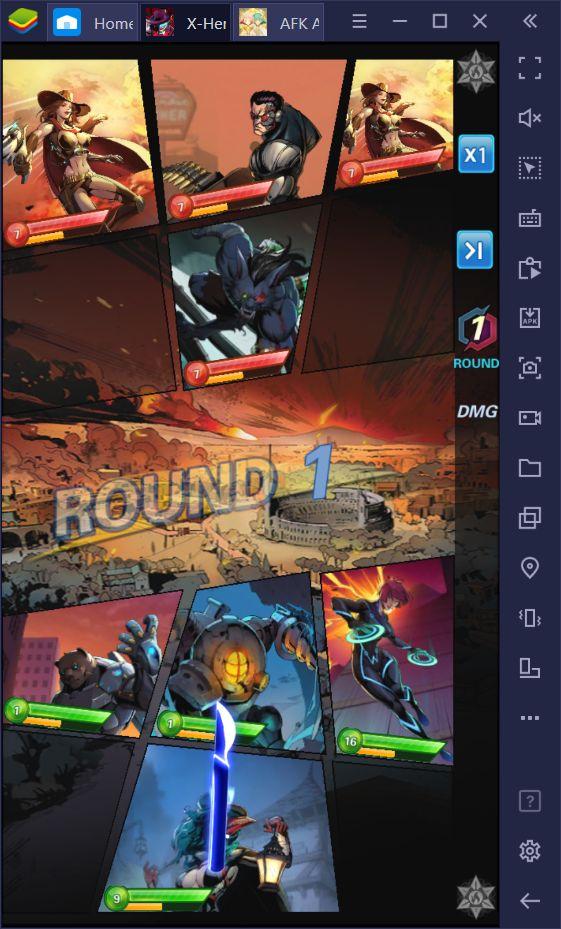 X-Hero: Idle Avengers Vs AFK Arena – lequel est le meilleur