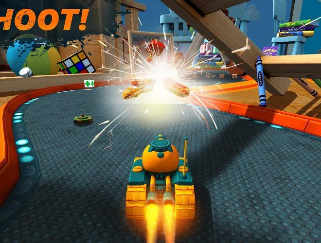 Play War Tank Racing Online 3d on PC 6