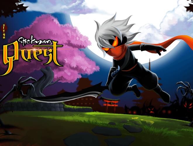 Chơi Stickman Quest on PC 15