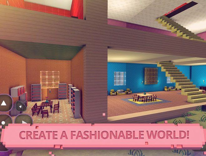 Play Glam Doll House: Girls Craft on PC 8