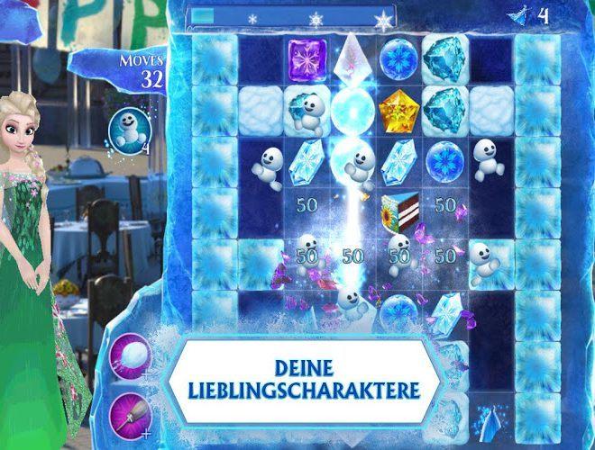 Spielen Frozen Free Fall on pc 4