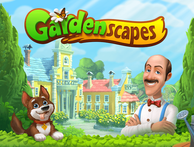 Играй Gardenscapes on pc 19