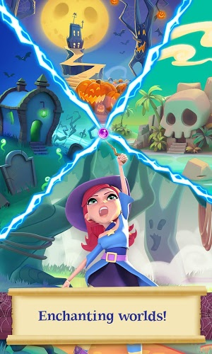 เล่น Bubble Witch Saga 2 on PC 5