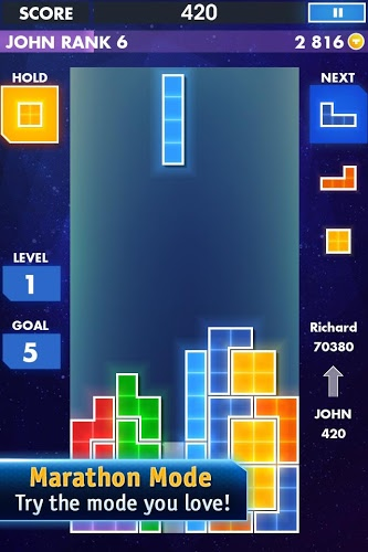 Play Tetris on PC 3