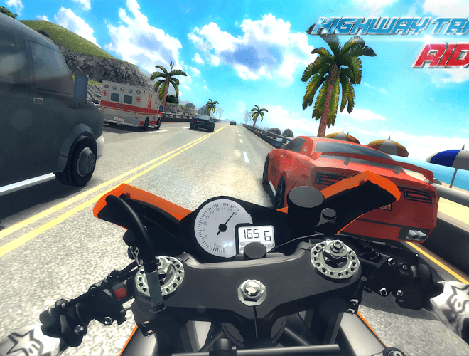 Играй Highway Traffic Rider На ПК 8