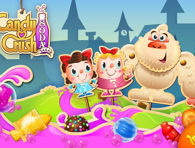 Играй Candy Crush Soda Saga on pc 19