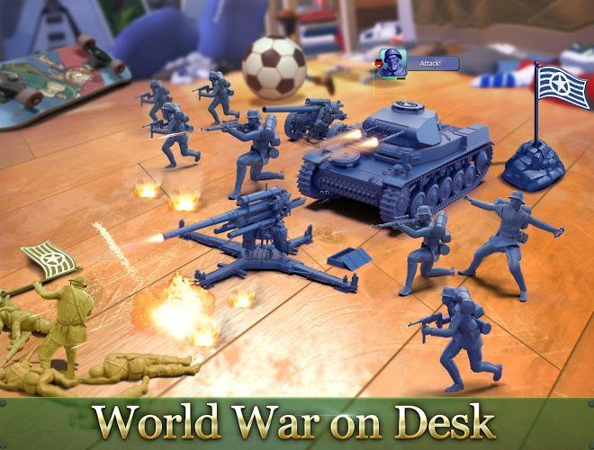 Play Army Men Strike on PC 8