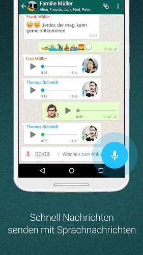 Spielen WhatsApp on PC 5