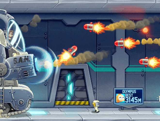 إلعب Jetpack Joyride on PC 11
