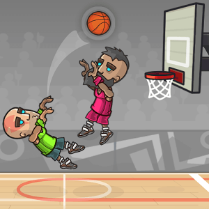 Play Basketball Battle on PC 1