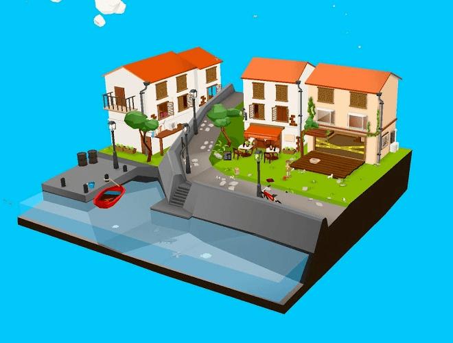 즐겨보세요 고양이와 상어: 귀여운 3D 방치 육성 게임 on PC 8