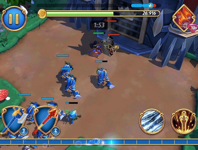 เล่น Royal Revolt 2: Tower Defense on pc 8