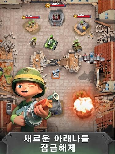 즐겨보세요 전쟁 영웅 : 무료 멀티 플레이어 게임 (War Heroes) on PC 4