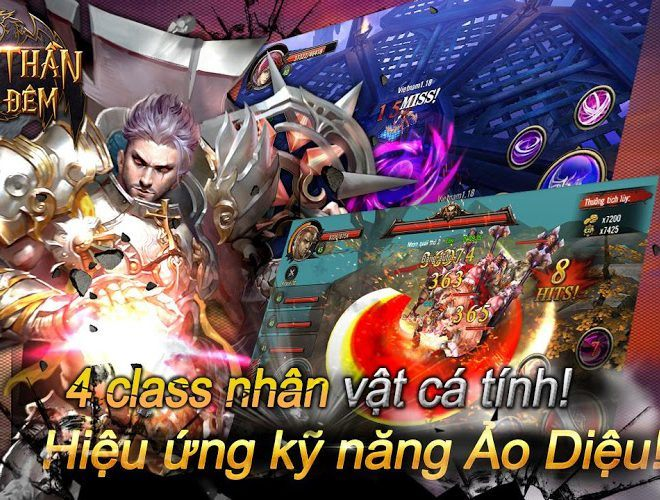 Chơi Chiến Thần Bóng Đêm on PC 6