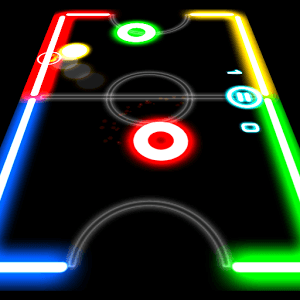 Играй Glow Hockey on pc 1
