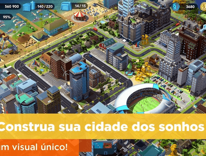 Jogue SimCity BuildIt para PC 3
