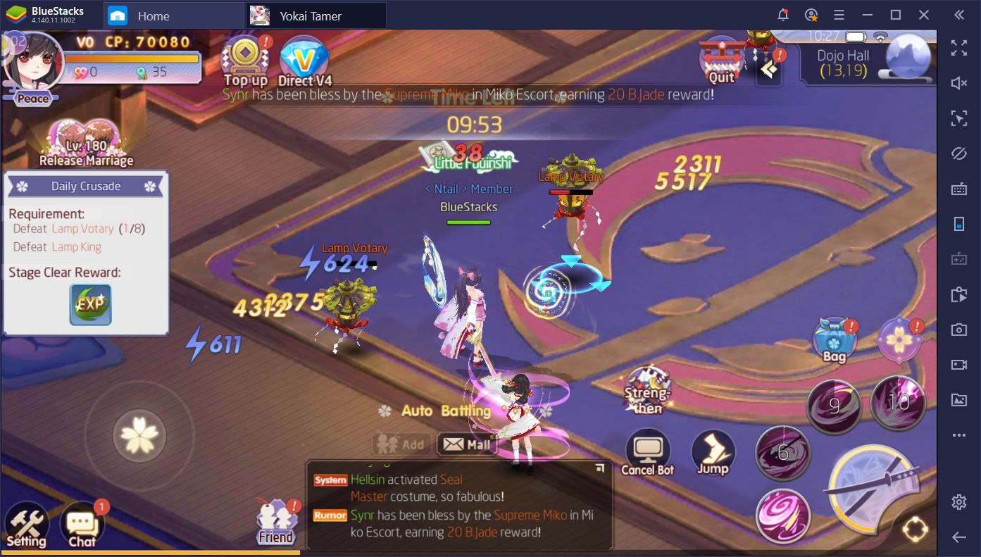 Enjoy Yokai Tamer on Your PC With BlueStacks