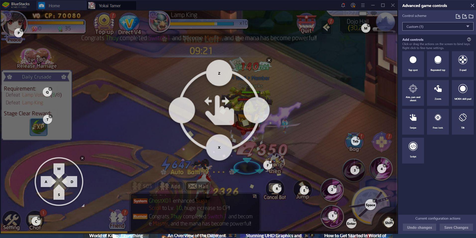 Enjoy Yokai Tamer on Your PC With BlueStacks