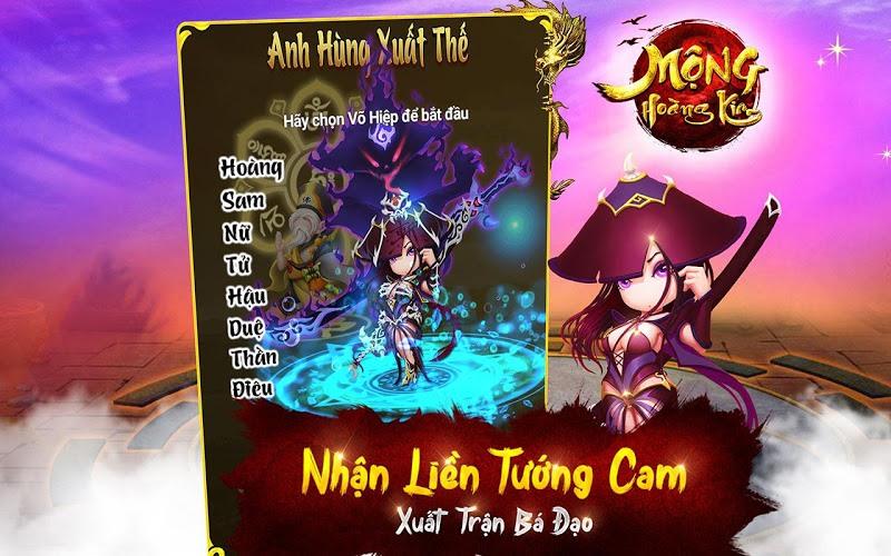 Chơi Mộng Hoàng Kim on PC 16