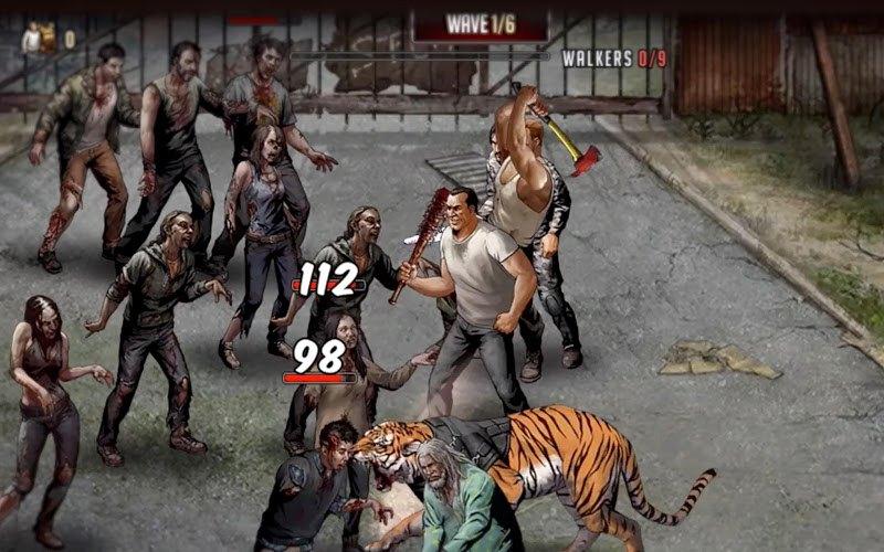 Jogue The Walking Dead: Jornada de Sobrevivência para PC 14