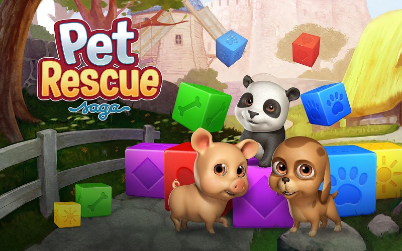 gioco pet rescue saga per pc