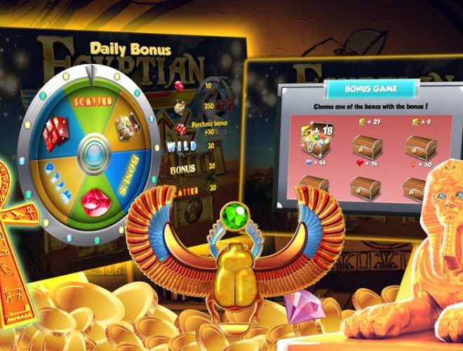 Play Egyptian Slots on pc 4