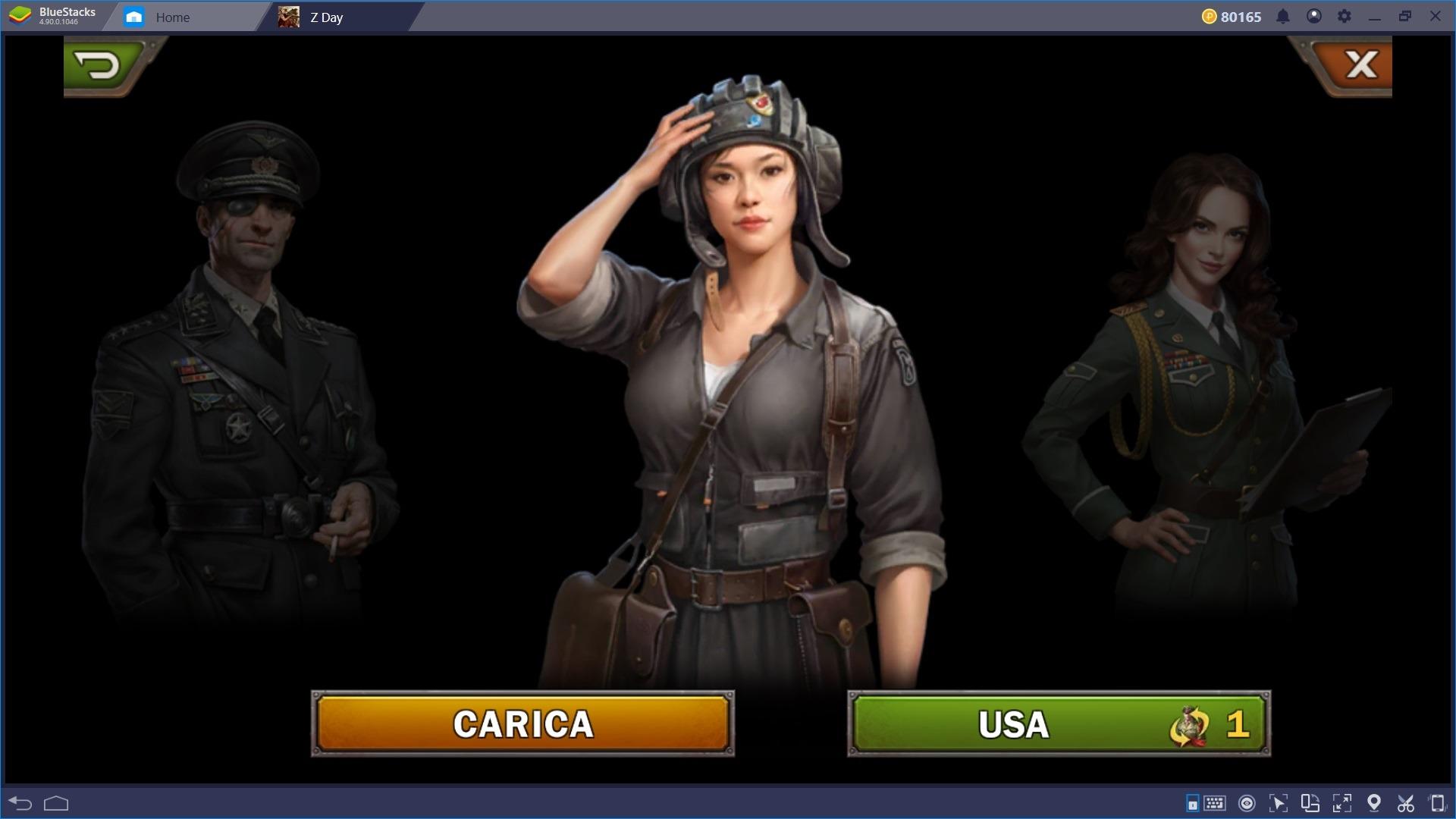 La Guida per i nuovi giocatori di Z Day: Hearts of Heroes