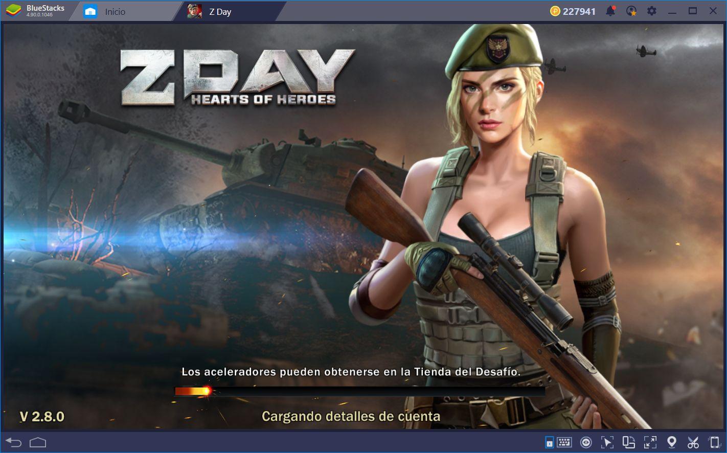 Día Z: Héroes de Guerra—El Juego de Conquista con Elementos Gacha