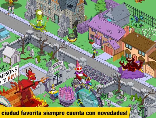 Juega Simpsons Tapped Out on pc 11