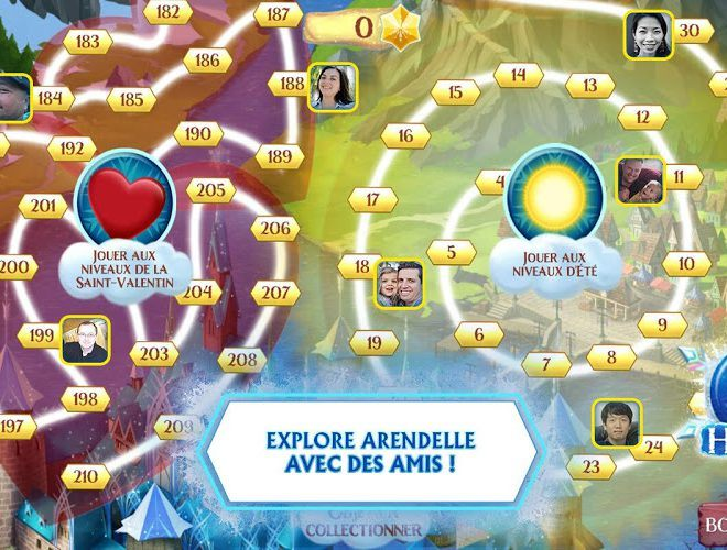 Jouez à  Frozen Free Fall sur PC 11