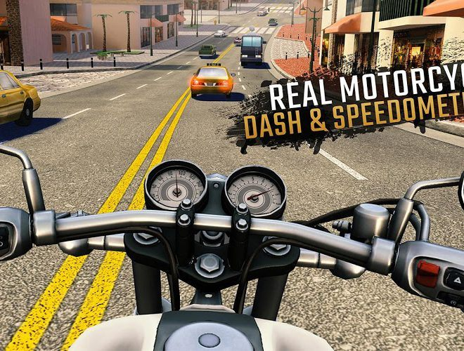 Play Moto Rider GO: Highway Traffic on PC 10