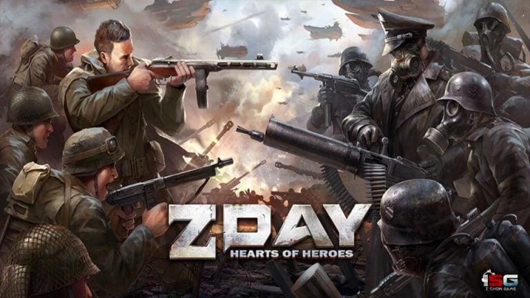 Z-Day: Hearts Of Heroes Oynuyor, Dünyayı Nazilerden Kurtarıyoruz