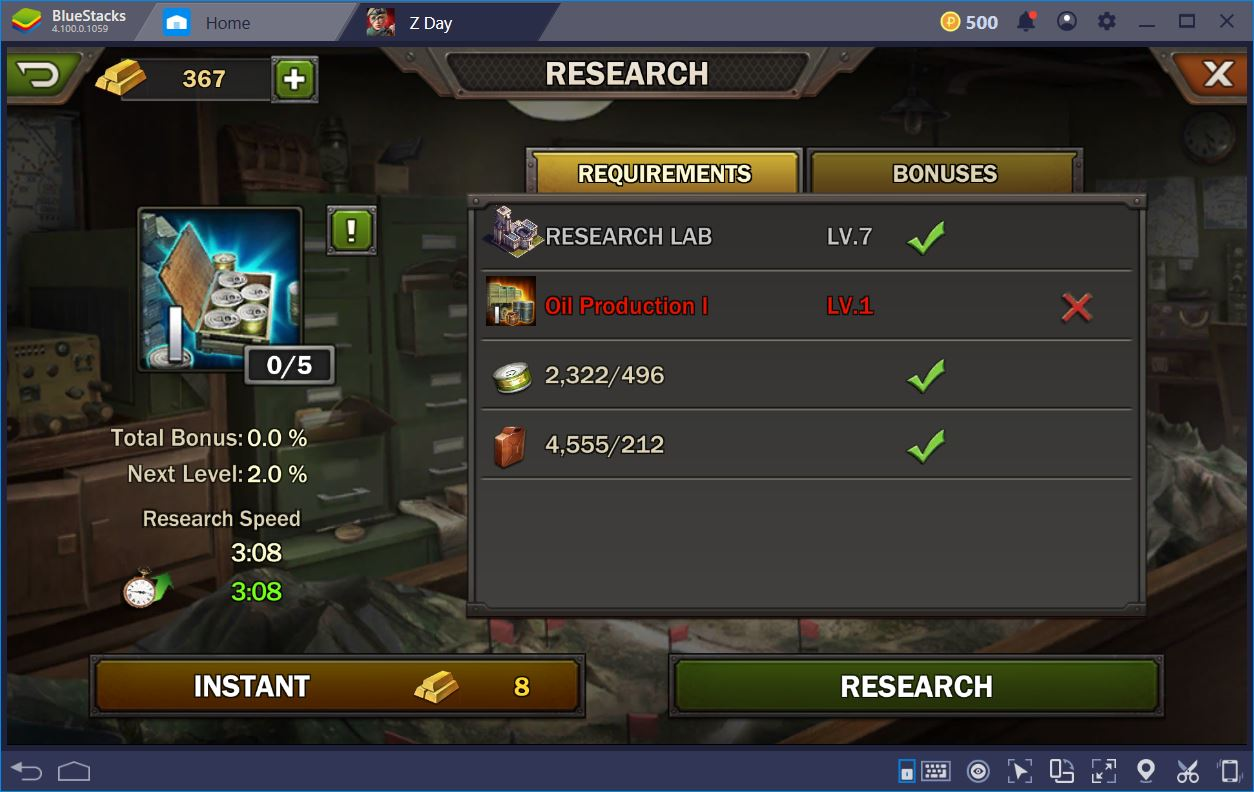 Z Day: Hearts of Heroes – How to Optimize Your Farming | BlueStacks 4