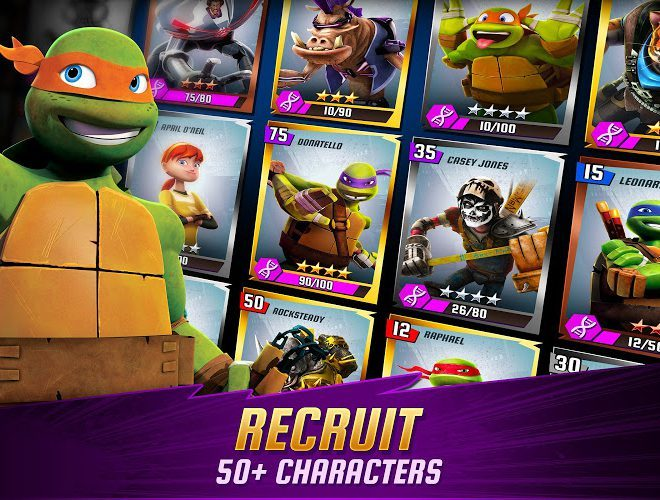 Play Ninja Turtles: Legends on PC 12