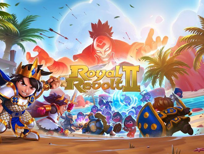 เล่น Royal Revolt 2: Tower Defense on pc 2