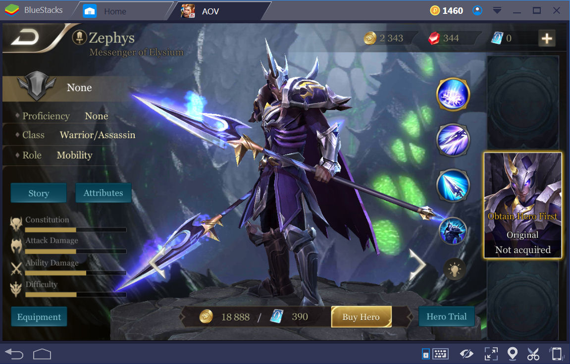 Arena of Valor (AOV) Top 5 Warriors Guide
