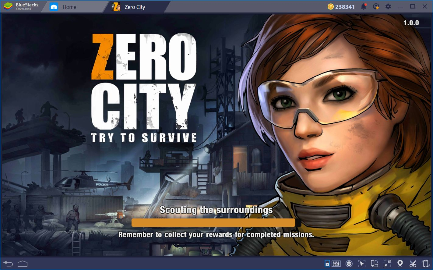 Brave the Zombie Apocalypse in Zero City with BlueStacks