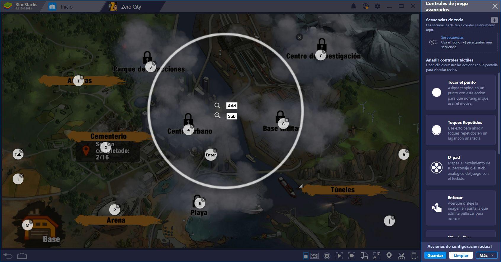 Enfrenta el Apocalipsis Zombi en Zero City con BlueStacks