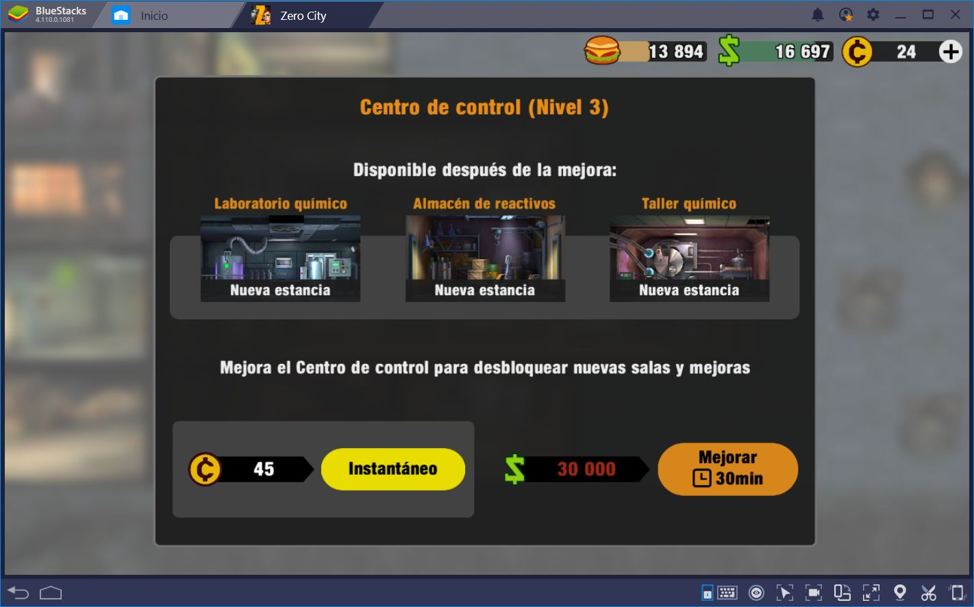Enfrenta el Apocalipsis Zombi en Zero City con BlueStacks