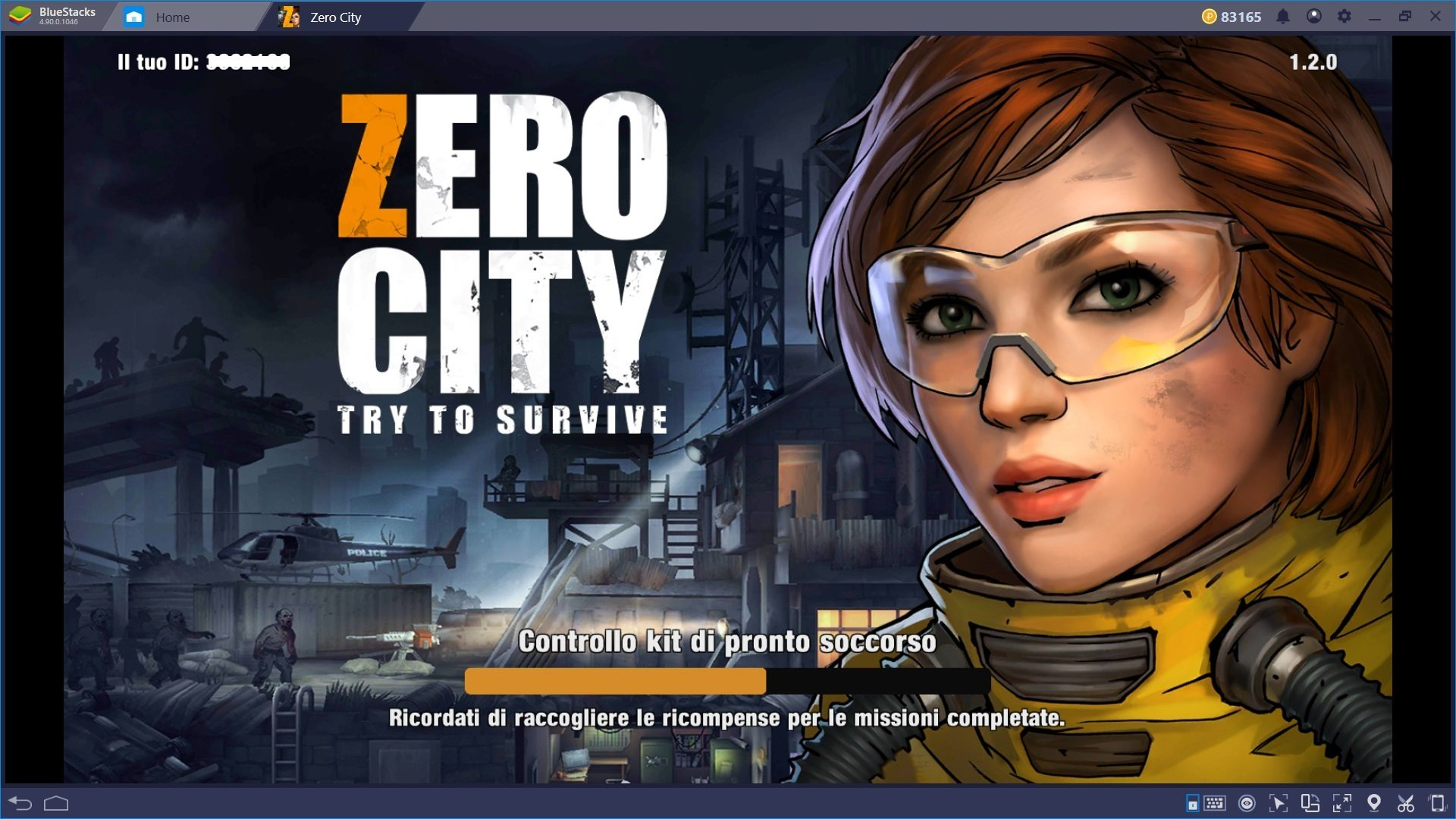 Sopravvivi all'Apocalisse Zombie di Zero City con Bluestacks