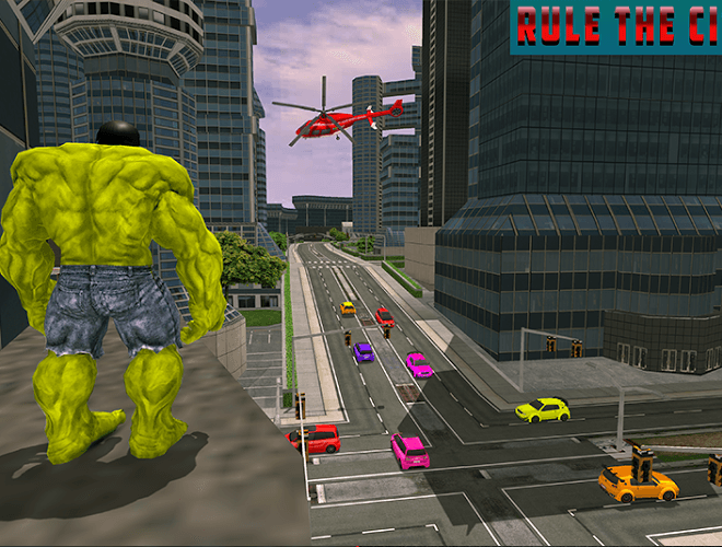 Play Monster Hero City Battle on PC 3