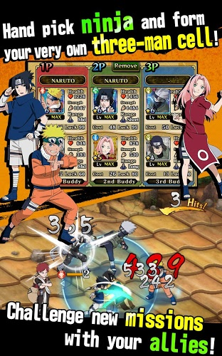 เล่น Ultimate Ninja Blazing on PC 4