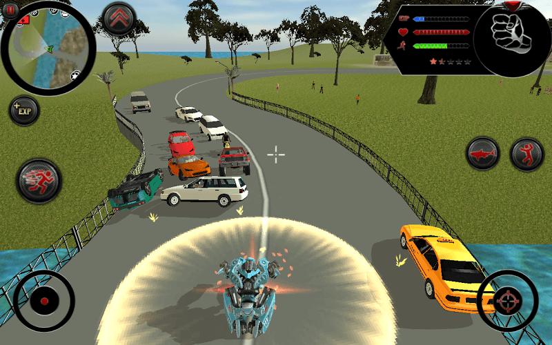 즐겨보세요 Robot Shark on PC 9