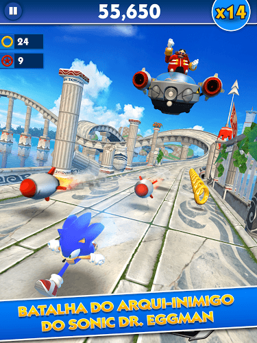 Jogue Sonic Dash on pc 7