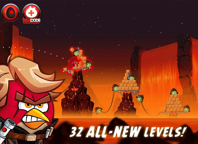 Play Angry Birds Star Wars II Free on PC 6