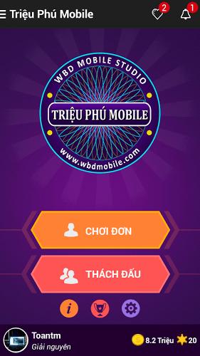 Chơi Ai Là Triệu Phú 2016 on PC 2